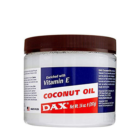 DAX Coconut Oil Enriched with Vitamin E 14oz