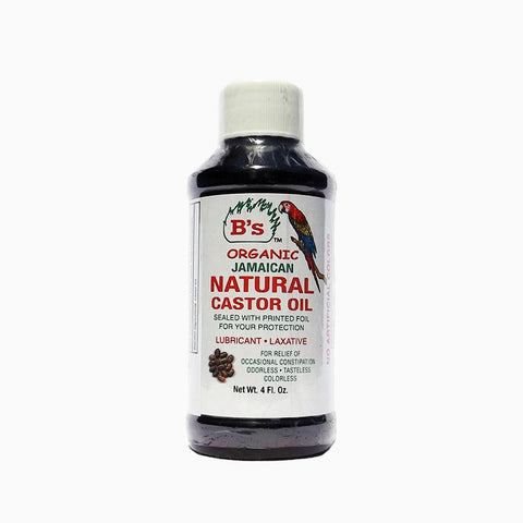 [Bs] Jamaican Natural Castor Oil <Lubricant Laxative> 4Oz - C_Hair Care-Natural Hair Care