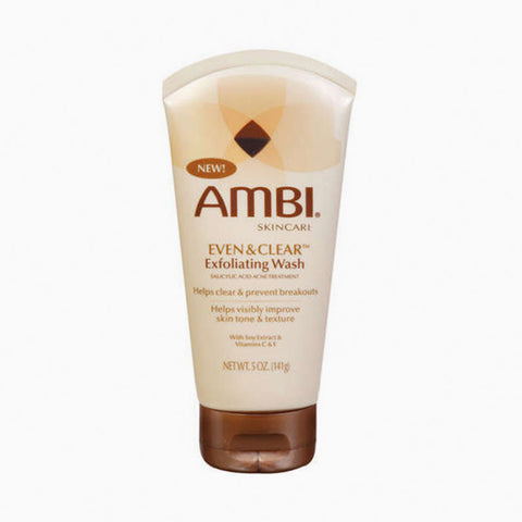 [Ambi] Even & Clear Exfoliating Wash 5Oz - C_Skin Care