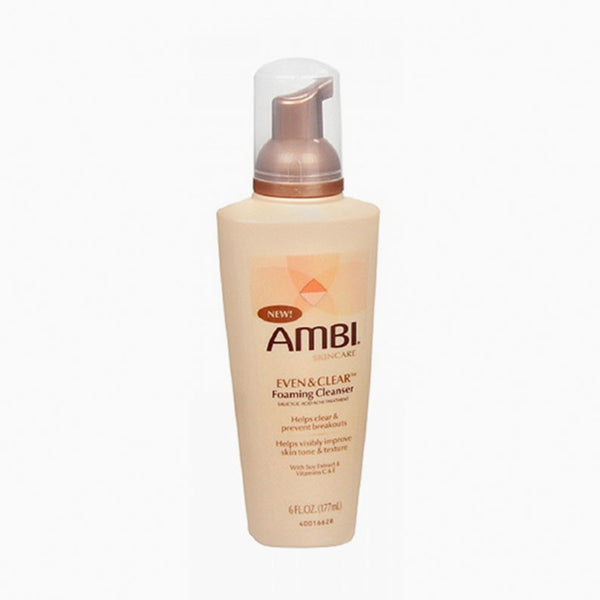 [Ambi] Even & Clear Foaming Cleanser 6Oz - C_Skin Care