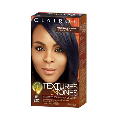[Textures & Tones] Permanent Moisture-Rich Haircolor - 1B - C_Hair Care-Hair Color