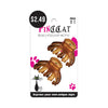 ABSOLUTE NEW YORK PINC CAT #P039 Hair Clip