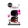 ABSOLUTE NEW YORK PINC CAT #P041 Hair Clip