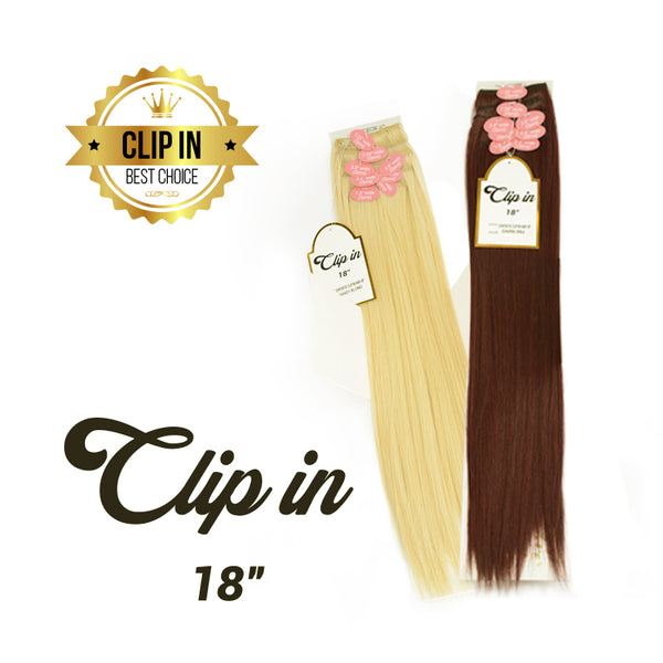 CLIP IN Synthetic 18""