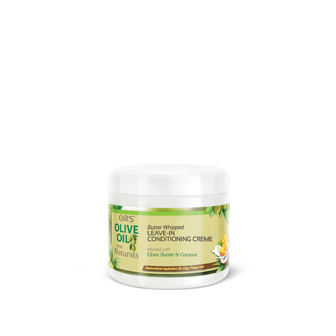 [Ors] Olive Oil For Naturals Butter Whipped Leave-In Conditioning Crème 16Oz - C_Hair Care