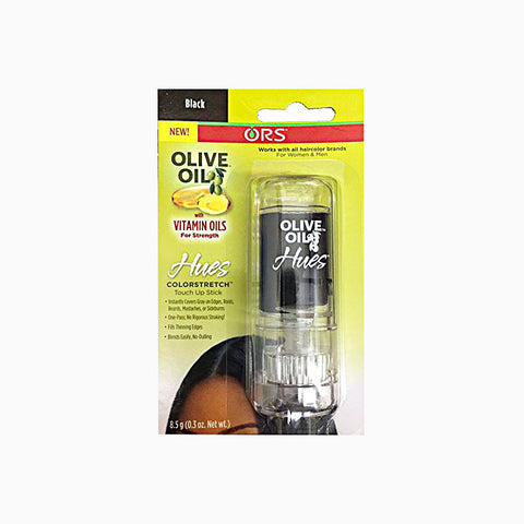 [Ors] Olive Oil Hues Colorstretch Touch-Up Stick 0.3Oz - Black - C_Hair Care-Hair Color