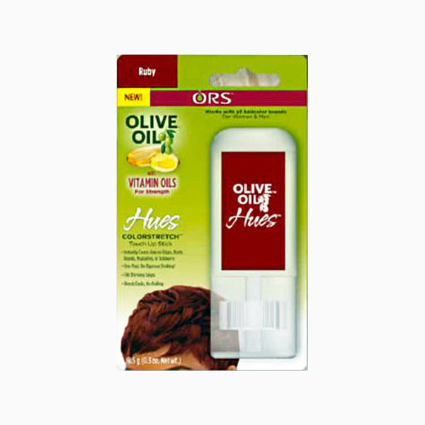[Ors] Olive Oil Hues Colorstretch Touch-Up Stick 0.3Oz - Ruby - C_Hair Care-Hair Color