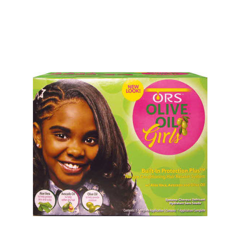 [Ors] Girls Olive Relaxer Kit - C_Kids & Baby-Hair Care