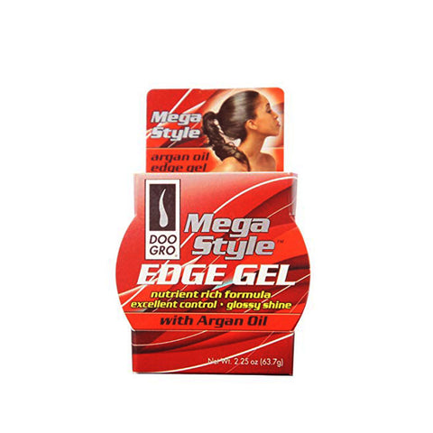 DOO GRO Mega Style Edge Gel with Argan Oil 2.25oz