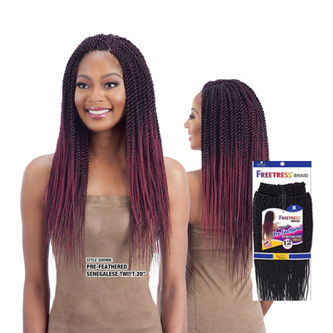 [SHAKE N GO] FREETRESS Braid 81 Strands Senegalese Twist
