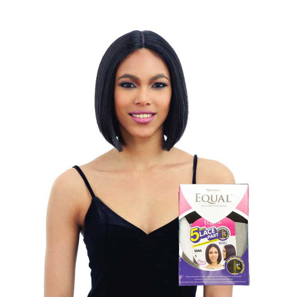 SHAKE N GO Freetress EQUAL 5 Inch Lace Part Full Cap Wig VANA