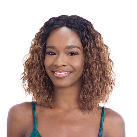 SHAKE N GO Freetress Equal Synthetic Invisible Part Full Cap Wig CHRIST SHORT