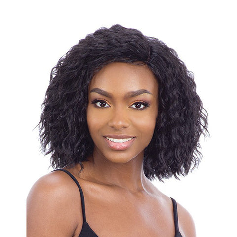 "SHAKE N GO Freetress EQUAL Synthetic 5"" Lace Part Full Cap Wig VANORA"