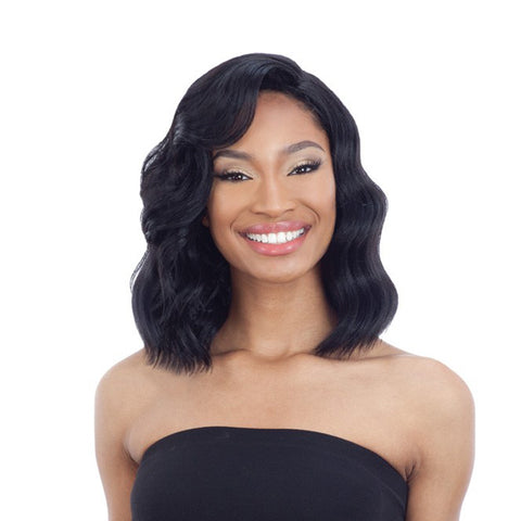 "SHAKE N GO FREETRESS EQUAL SYNTHETIC 5"" LACE PART WIG VAL"