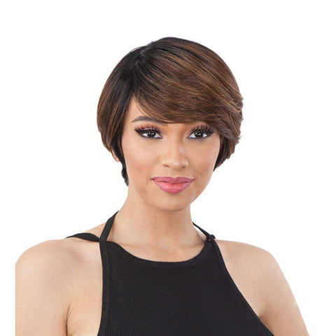 SHAKE N GO Freetress EQUAL Synthetic Full Cap HAIR WIG LITE 003