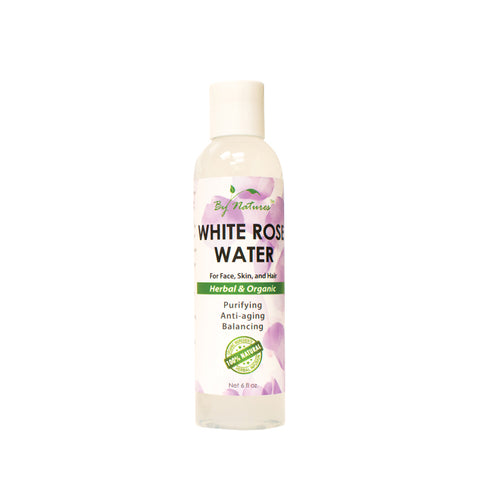 BY NATURES White Rose Water 6oz
