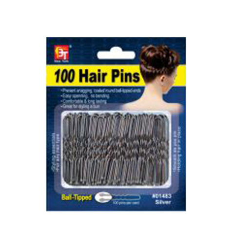 BEAUTY TOWN 100 Hair Pin(Silver) #01483