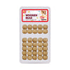 BEAUTY TOWN Wooden Beads #07543 BG