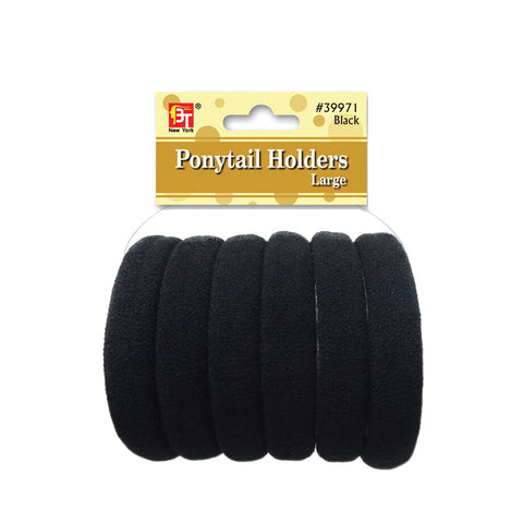 BEAUTY TOWN Ponytail Holder #39971 BK