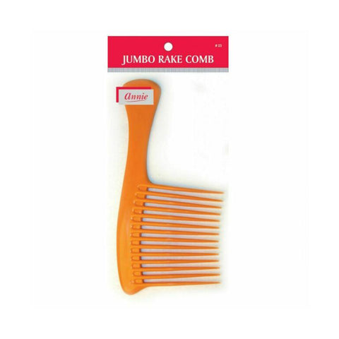 ANNIE Jumbo Rake Comb #23 ASSORTED COLOR