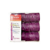 ANNIE Snap on Rollers 6PCS Purple 1.75