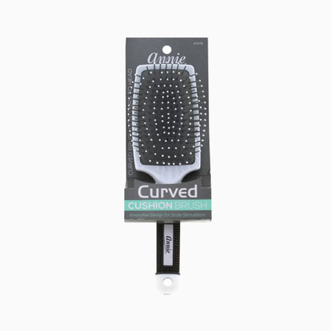 [Annie] Curved Cushion Brush (Nylon Tip) #2478 - Tools & Accessories