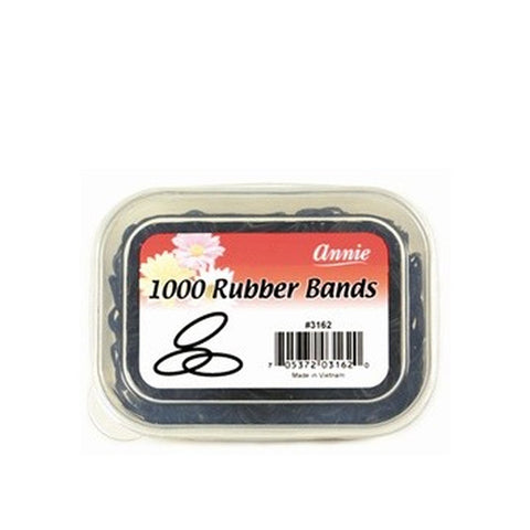 ANNIE 1000 Rubber Band Black #3162