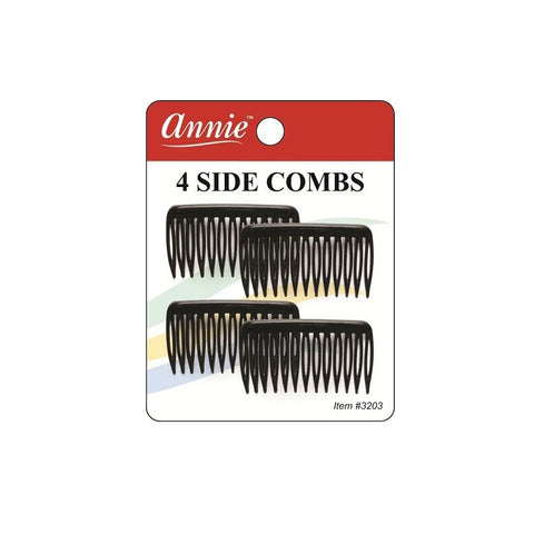 ANNIE Side Combs BK SMALL #3203