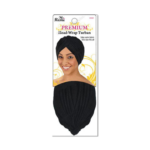 ANNIE Head-Wrap Turban [ASSORTED COLOR]