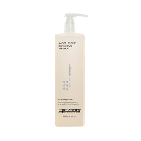 GIOVANNI ECO CHIC HAIR CARE Smooth as Silk Deep Moisture Shampoo 33.5oz (IN STORE ONLY)