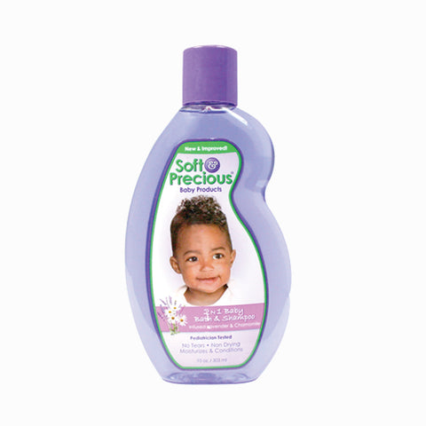 [Soft & Precious] 2N1 Baby Bath & Shampoo 10Oz - C_Kids & Baby-Skin Care