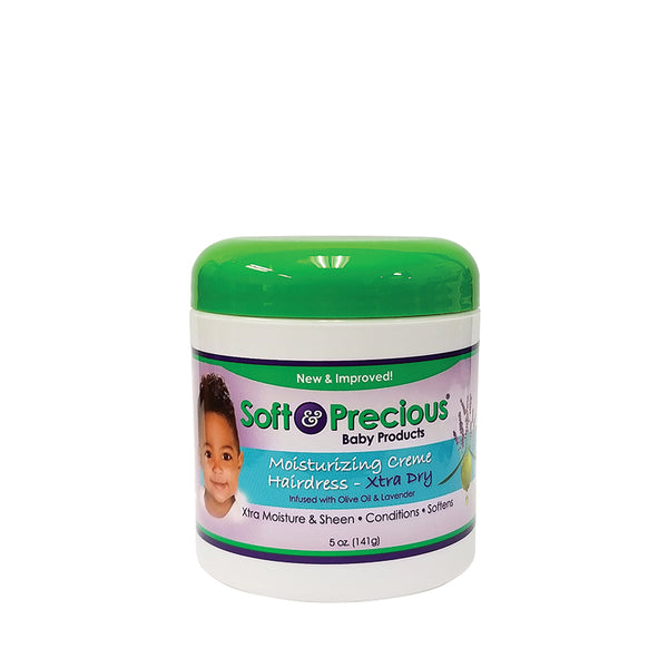 [Soft & Precious] Moisturizing Cream Hairdress [Xtra Dry] 5Oz - C_Kids & Baby-Hair Care