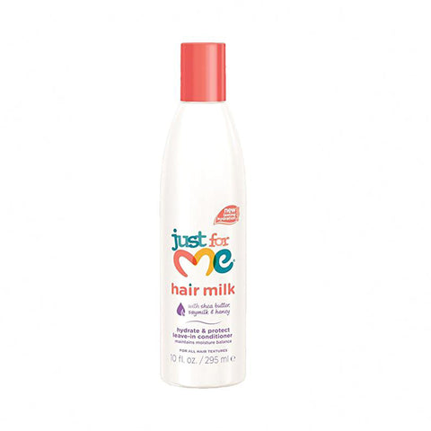 [Just For Me] Hair Milk Hydrate & Protect Leave-In Conditioner 10Oz - C_Kids & Baby-Hair Care