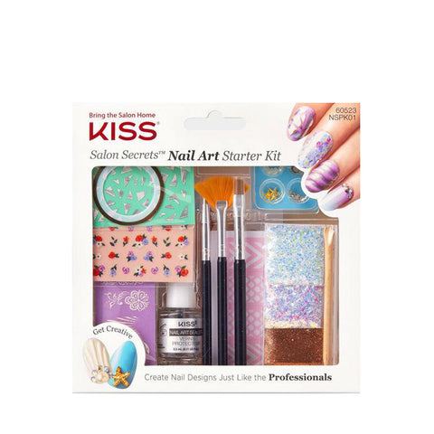 KISS Salon Secrets Nail Art Starter Kit #NSPK01C