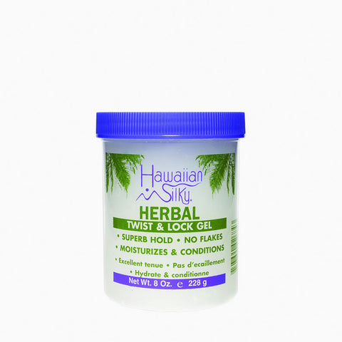 [Hawaiian Silky] Herbal Twist & Lock Gel 8Oz - C_Hair Care-Braids & Locs & Twists