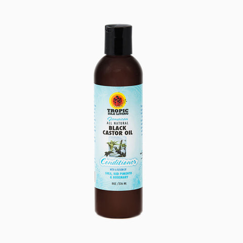 [Tropic Isle Living] Black Castor Oil Conditioner 8Oz - C_Hair Care-Natural Hair Care