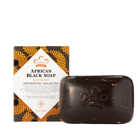 NUBIAN African Black Soap 5oz