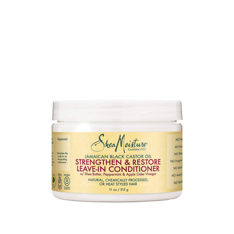 SHEA MOISTURE JAMAICAN BLACK CASTOR OIL Leave-In Conditioner 11oz