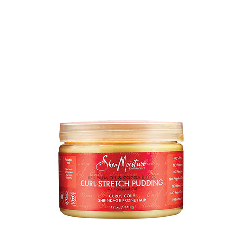 [Shea Moisture] Red Palm Oil & Cocoa Butter Curl Stretch Pudding 12Oz - C_Hair Care-Natural Hair Care