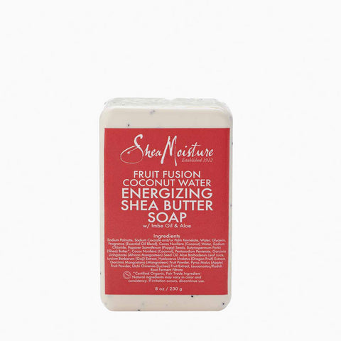 [Shea Moisture] Fruit Fusion Coconut Water Energizing Shea Butter Soap 8Oz - C_Skin Care-Natural Skin Care
