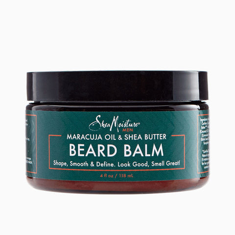 [Shea Moisture] Men - Maracuja & Shea Oils Beard Balm 4Oz - C_Mens-Natural Skin Care