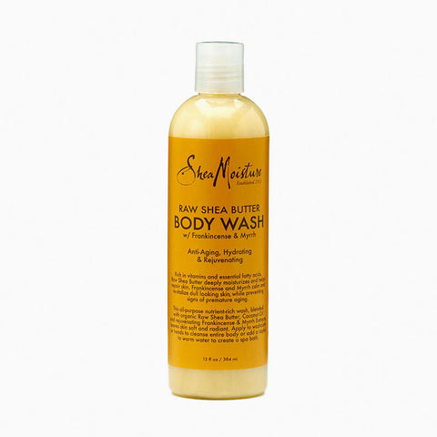 [Shea Moisture] Raw Shea Butter Body Wash 13Oz - C_Skin Care-Natural Skin Care