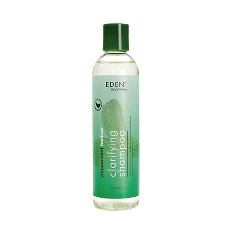 [Eden Bodyworks] Peppermint Tea Tree Shampoo 8Oz - C_Hair Care-Natural Hair Care