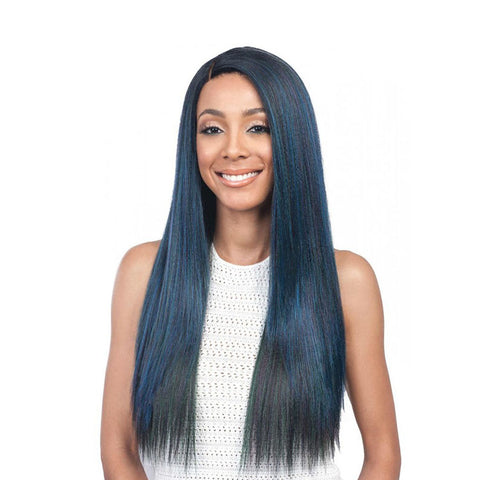 "[BOBBI BOSS] 4"" deep lace part Swiss Lace Front Wig KARASEL"