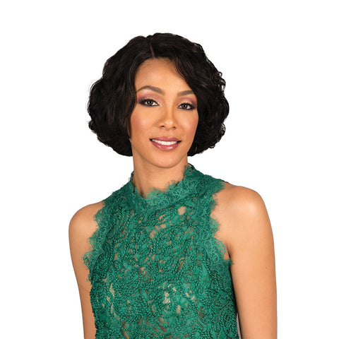 BOBBI BOSS Human Hair Full Cap Wig EZRA