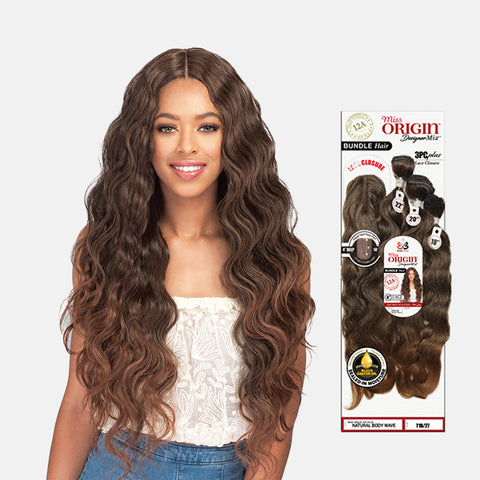 [BOBBI BOSS] Miss Origin Bundle Natural Body Wave