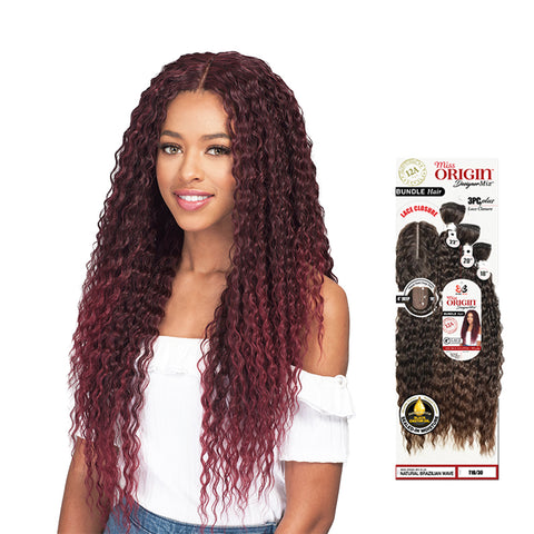 BOBBI BOSS Miss Origin Bundle NATURAL Brazilian Wave