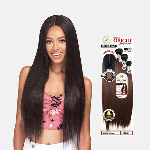 [BOBBI BOSS] Miss Origin Bundle Natural Straight