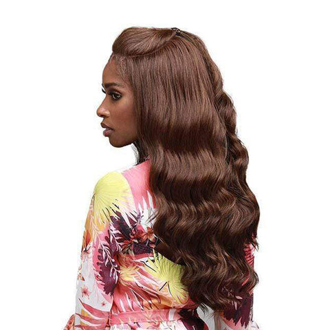 BOBBI BOSS 100% Premium Synthetic Hair U-Shaped Part Lace Front Wig JAZZLYN
