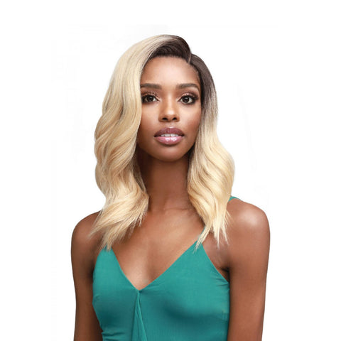 "BOBBI BOSS Premium Synthetic Swiss Lace 5"" Deep Part Lace Front Wig  VALENCIA"